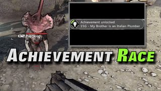 Achievement Race - My Brother is an Italian Plumber in 'Borderlands'