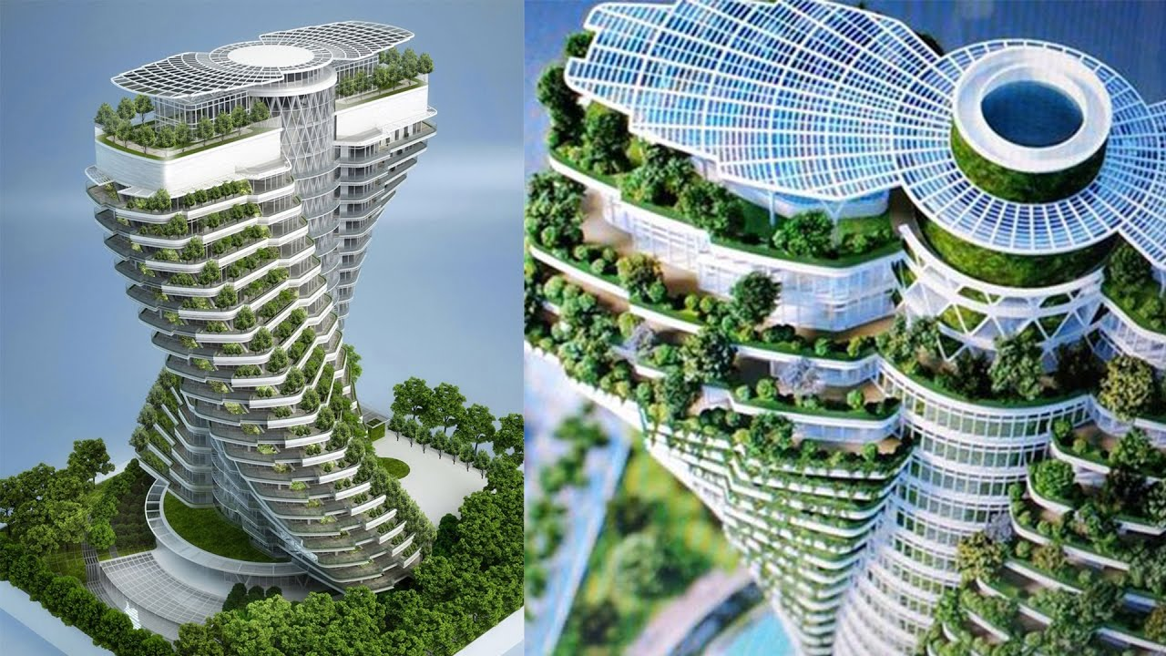 Secret Garden: Most AMAZING Skyscrapers In The World!