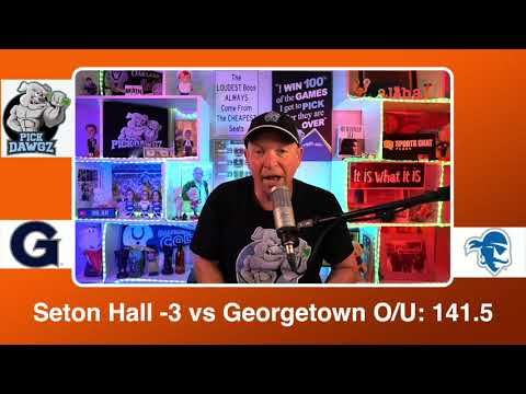 Seton Hall vs Georgetown 3/12/21 Free College Basketball Pick and Prediction CBB Betting Tips