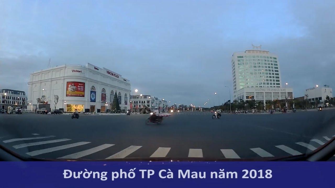 Đường phố Cà Mau qua góc nhìn Camera hành trình | Mekong today