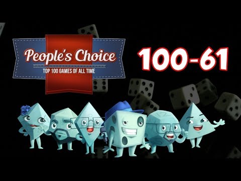 People's Choice Top 100 Games of All Time: #100 - #61