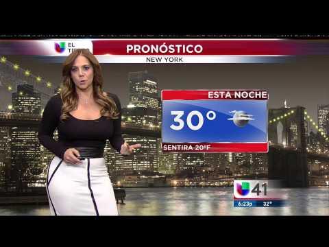 Nilda Rosario Beautiful weather lady 12/30/14