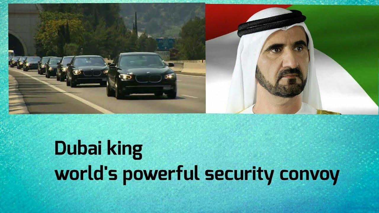 Download World's best convey for Saudi king || Dubai ||