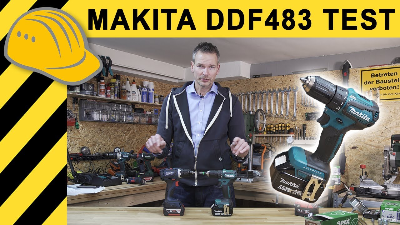 akkuschrauber test makita ddf 483 18v akkuschrauber. Black Bedroom Furniture Sets. Home Design Ideas