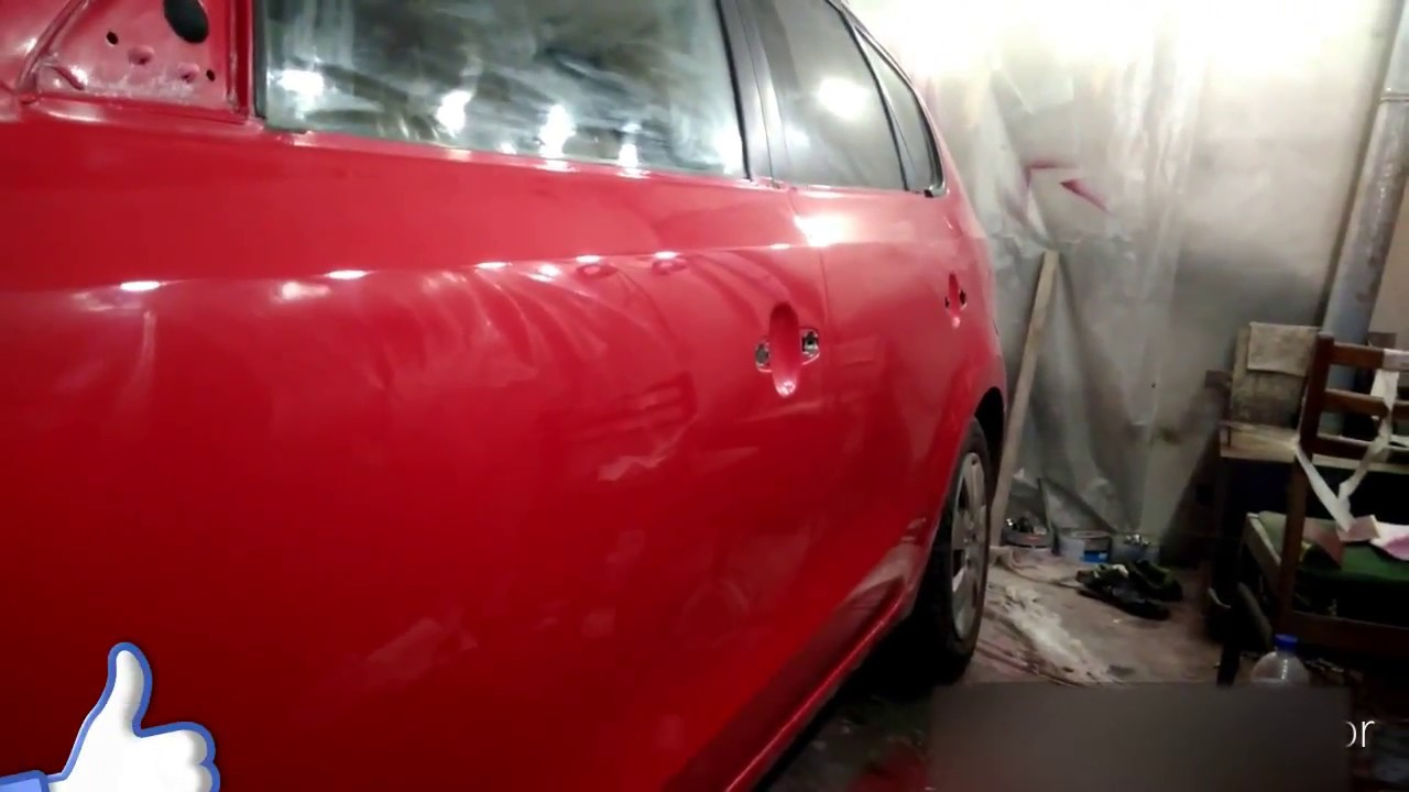 полироль после покраски автомобиля