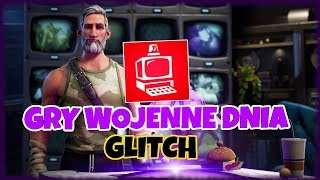 GLITCH WAR GAMES OF THE DAY HOW TO EASILY DO? -Fortnite rescuing the world