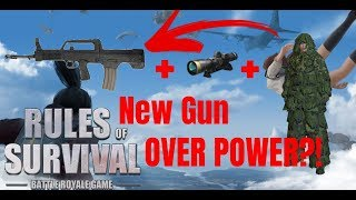 QBZ97 NEW GUN (TAGALOG)  (Rules of Survival: Battle Royale #5)