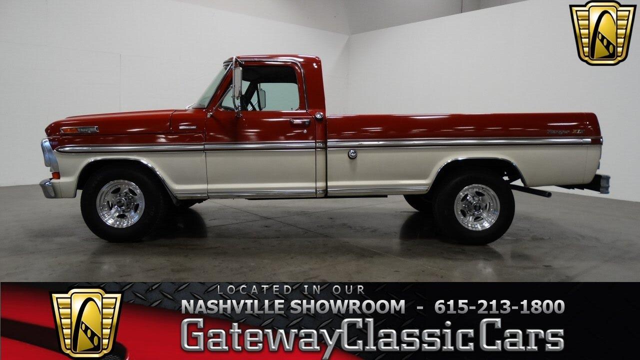 1970 Ford F250 Ranger Xlt Camper Specialgateway Classic Cars 1975 Nashville398 Youtube