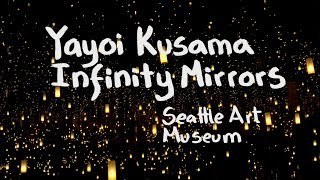 KUSAMA Infinity Mirrors at Seattle Art Museum