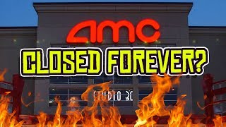 Is this the end for amc theaters? its credit rating has been dropped, let go all of staff and many are speculating nation's largest theater chain...