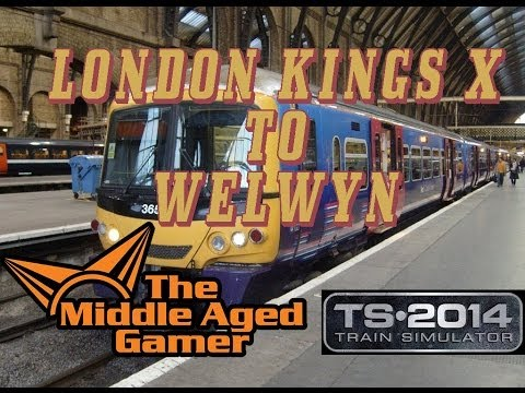 Train Simulator 2014 - ECML - London Kings Cross to Welwyn Garden City