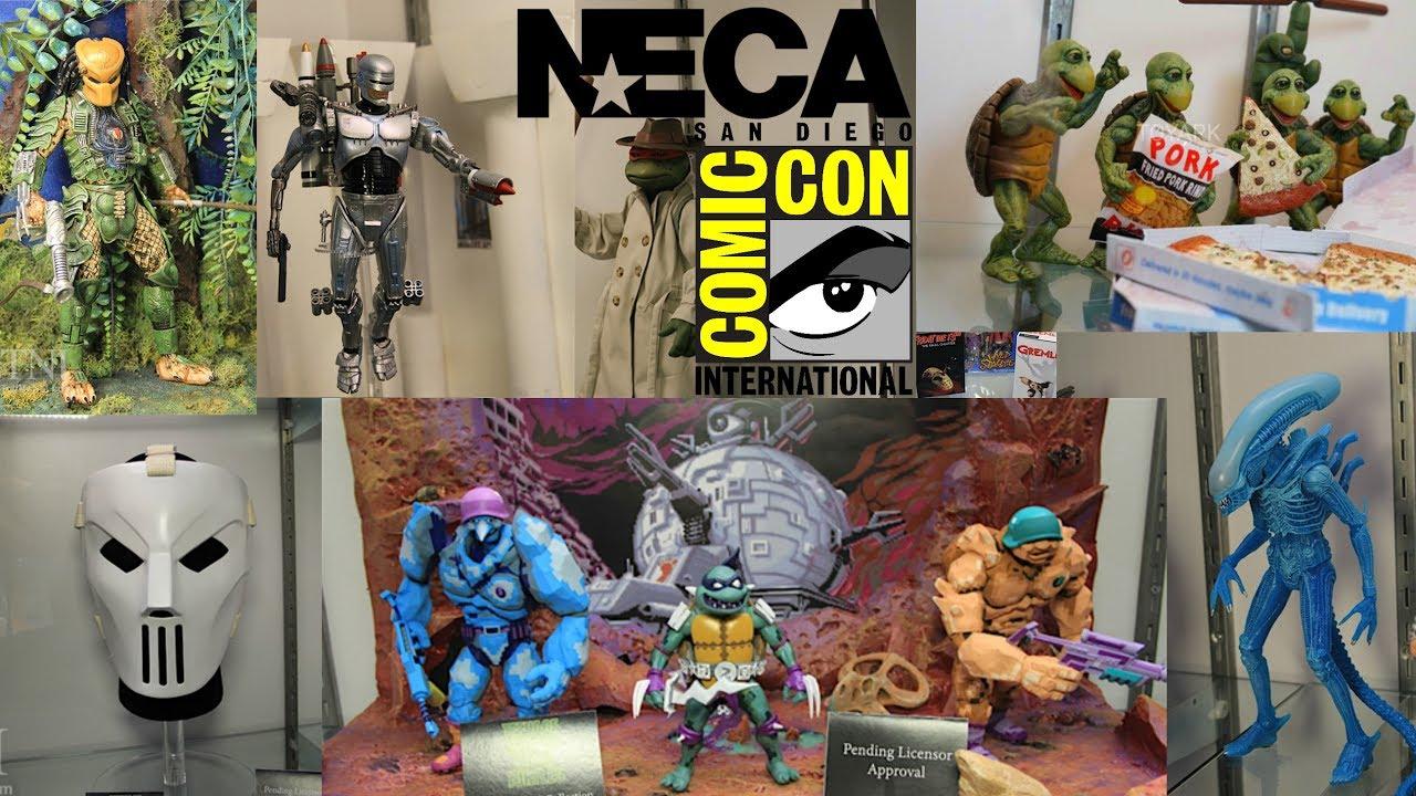 Neca Toys San Diego Comic Con 2017 Reveals SDCC