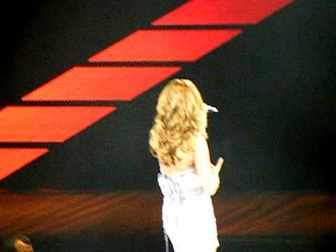 Celine Dion in Omaha-It's all coming back to me now and because you loved me