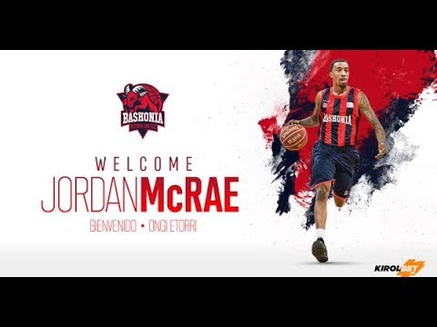 Jordan McRae ●Welcome to Baskonia 2017 ᴴᴰ