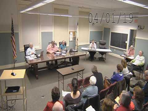 West Newbury Selectmen 040119