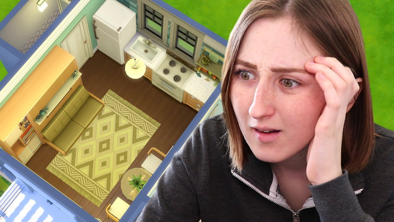 This Micro Home Challenge is IMPOSSIBLE (The Sims 4: Tiny Living) thumbnail