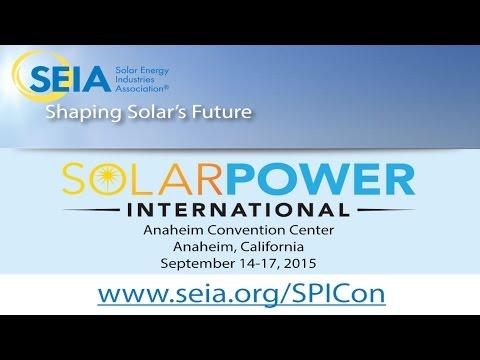 Get ready for Solar Power International (SPI) 2015!
