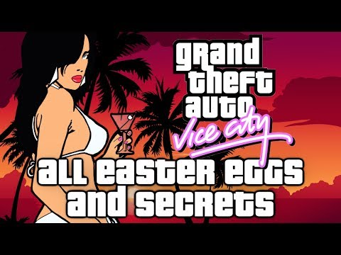 Grand Theft Auto Vice City All Easter Eggs, Secrets, Tricks and Extra (HD)
