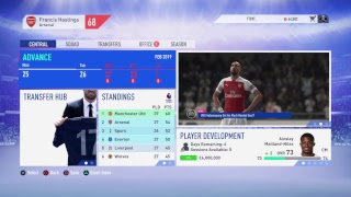 FIFA 19 LIVE Arsenal Career Mode #8 | AFTV Young Gunz