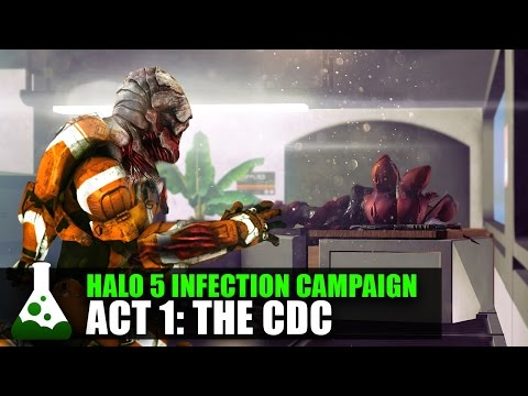Halo 5 Infection Campaign - Act 1: The CDC