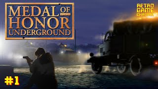 MEDAL OF HONOR UNDERGROUND (2000) - ПРОХОЖДЕНИЕ #1 [PS1]