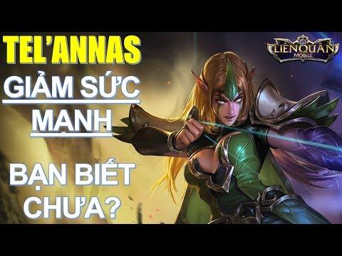 Nữ vương Tel' Annas đi rừng và sẽ bị giảm sức mạnh trong bản update mới NTN? Arena of Valor