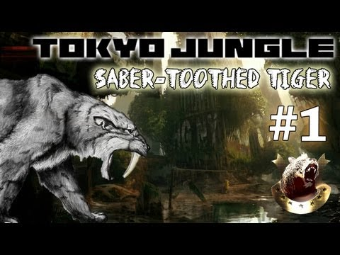 Tokyo Jungle - Survive over 100 years (Saber-Toothed Tiger) Part 1 of 5
