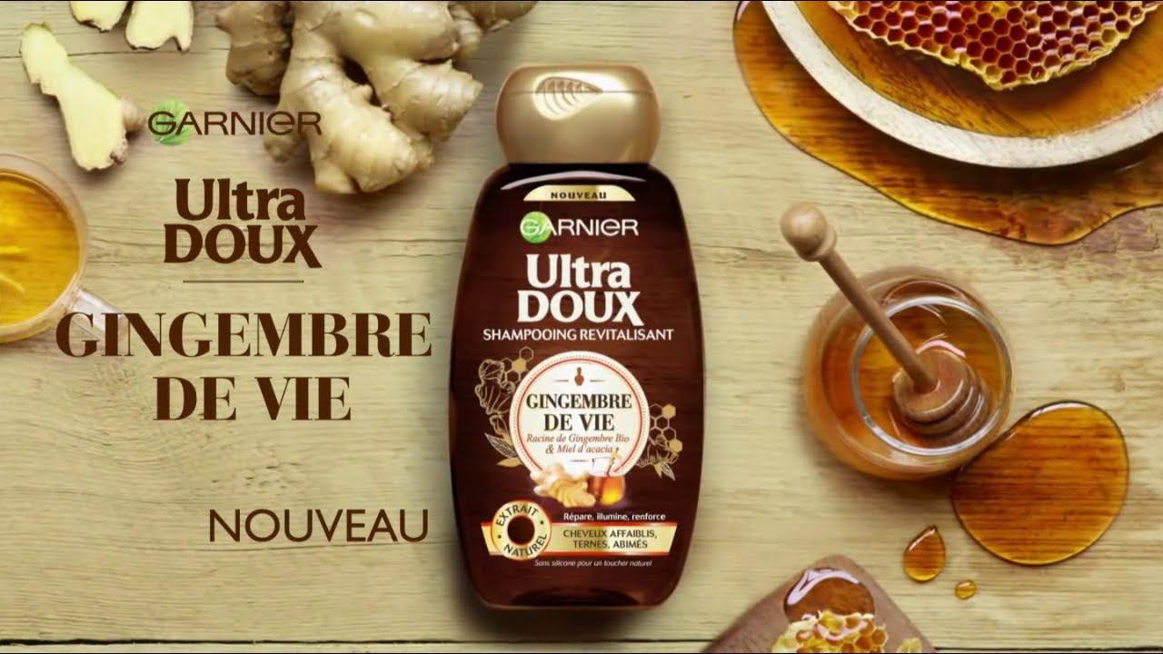 """Musique de la pub Shampoing Ultra Doux Gingembre de vie Garnier """"naturellement""""  2021"""