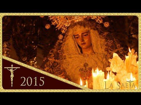 Ntra. Señora de Gracia y Esperanza por Caballerizas - San Roque (Semana Santa 2015 - Sevilla)