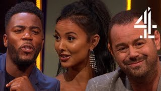 Maya Jama on Hearing Stormzy's 'Birthday Girl' with Him for 1st Time | The Lateish Show