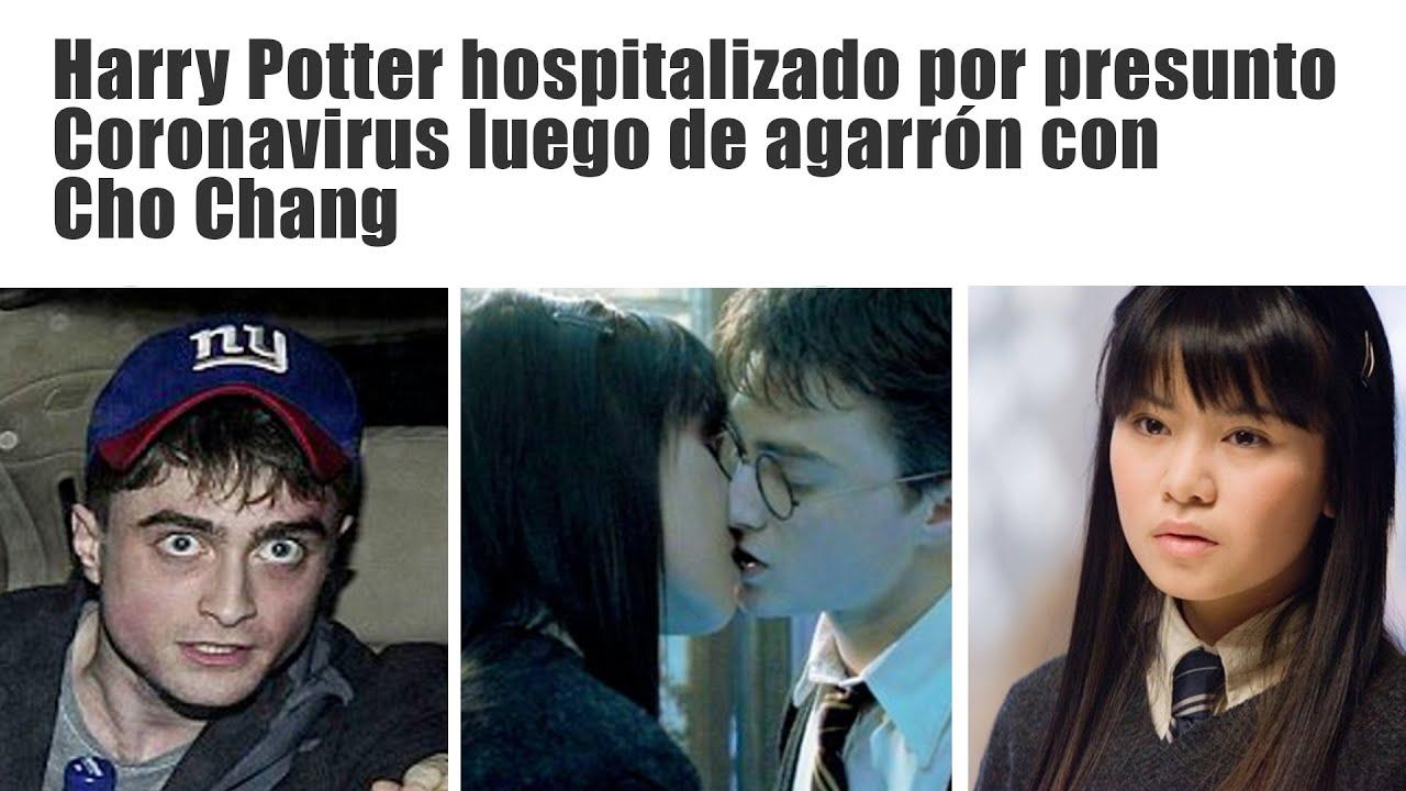 HARRY POTTER ES HOSPITALIZADO POR PRESUNTO CORONAVIRUS - YouTube