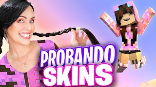 AYÚDAME!!! 🔥 Escogiendo Nueva Skin en Minecraft para la Serie PIRULAND! ♥ Sandra Cires Play