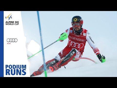 Marcel Hirscher | Men's Slalom | Levi | 1st Place | FIS Alpine
