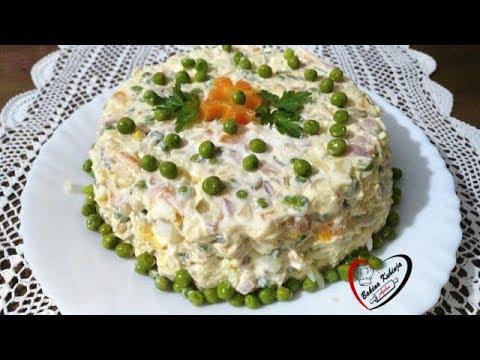 Bakina kuhinja - ruska salata kao prilog pečenju