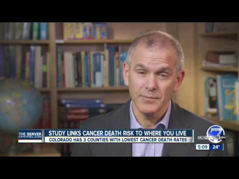 Report: Six of 10 counties with lowest cancer death rates in Colorado Rockies