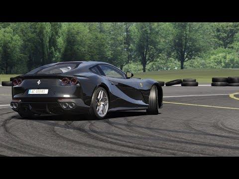 Ferrari 812 Superfast at Top Gear Test Track / Assetto Corsa