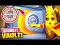 Opening the *SECRET* Colosseum VAULT in Fortnite!