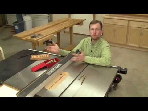 Setting Up Narrow Rip Cuts with Drill Bits