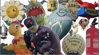 MJ Ballooning | Special Shapes at Bristol Balloon Fiesta