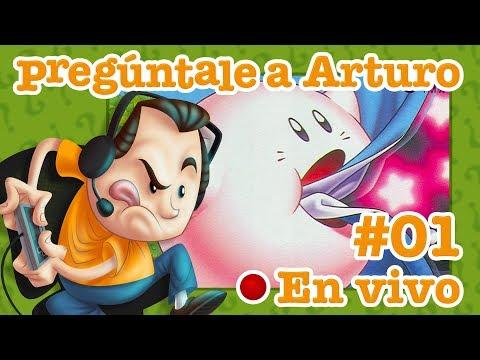 Kirby's Adventure #1 | Pregúntale a Arturo en Vivo (20/7/2017)