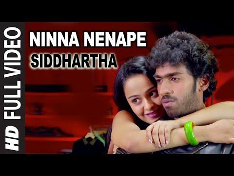 Ninna Nenape Video Song | Siddhartha Video Songs | Vinay Rajkumar, Apoorva Arora | Kannada Songs