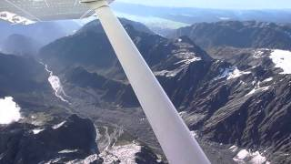 Flight over the Southern Alps (New Zealand)