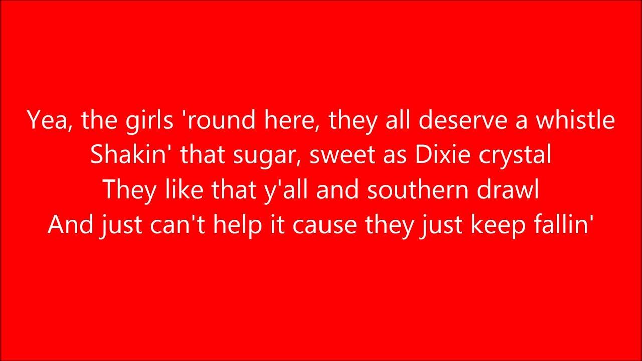 Boys Round Here Lyrics - YouTube