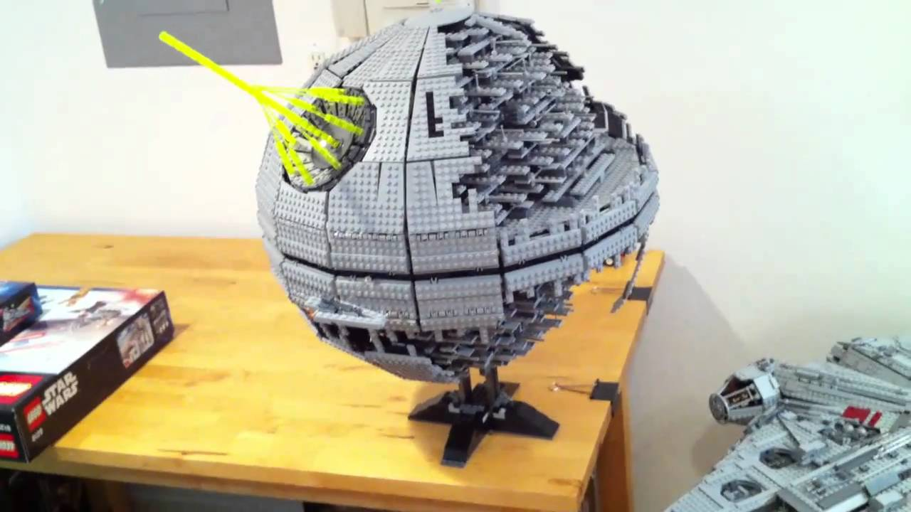 the lego death star ii 10143 youtube. Black Bedroom Furniture Sets. Home Design Ideas