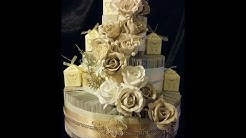 BOOK FOLDING. Wedding cake. Very easy tutorial AMAZING RESULTS