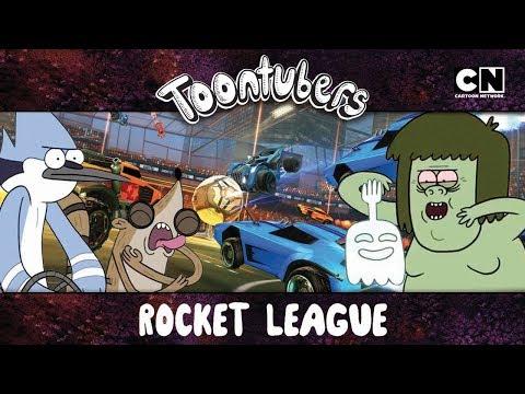 Mordecai e Rigby vs Musculoso e Fanstasmão: O JOGO DO SÉCULO | Toontubers | Cartoon Network