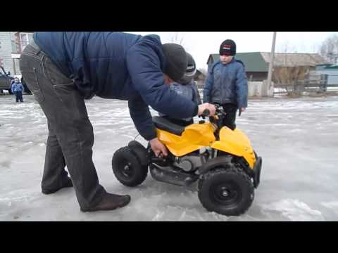 Детский квадрик | Детский квадроцикл| квадроцикл от 3 лет| Детский бензиновый квадроцикл MOTAX ATV H