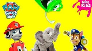 Щенячий Патруль спасает Хот Хэпик Paw PAtrol Hot Мультфильм Игрушки 2016
