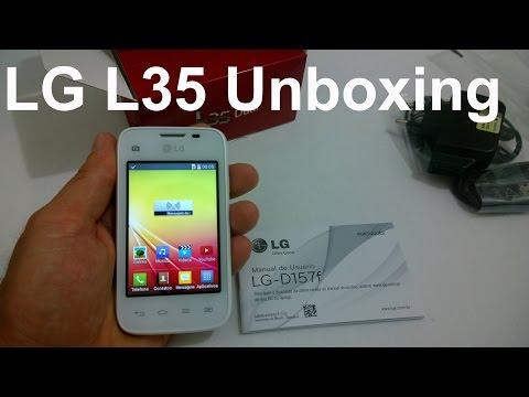 LG L35 Dual TV - O Que Vem na Caixa? [Unboxing Brasil]