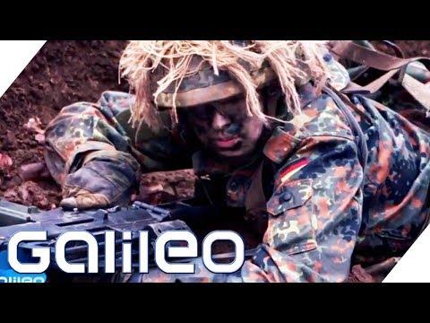 Bundeswehr: So hart ist die militärische Ausbildung | Galileo | ProSieben